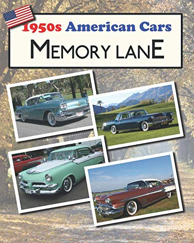 1950s American Cars Memory Lane: Large print picture book for dementia - Lane Car Memory