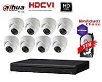 iCare Package: 16CH 1080P HDCVI w/3TB HDD + (8) 2MP IR Mini Dome