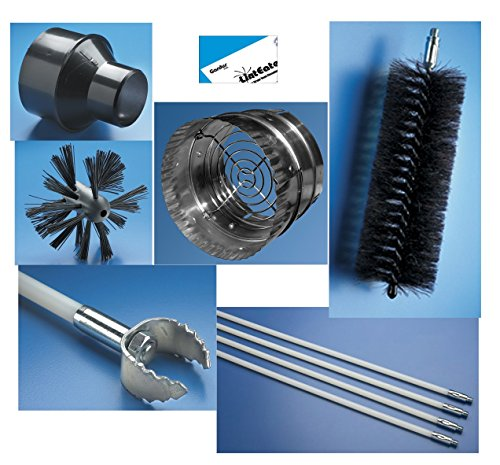 Gardus RLE202 LintEater 10-Piece Rotary Dryer Vent Cleaning (Linteater Dryer)