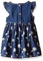 Calvin Klein Girls Denim Dress with Disc...