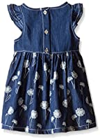 Calvin Klein Girls' Flower Print Denim D...