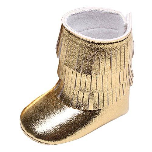 FireFrog Girls Tassels Ankle Leather