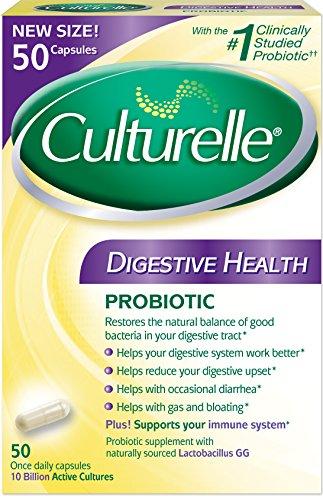 Capsules de santé Digestive culturelle, Count 50