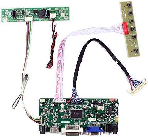 LCD LED LVDS Controller Driver Board Kit for M170ETN01.1 HDMI+DVI+VGA housing