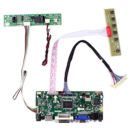 VSDISPLAY HDMI VGA DVI Audio LCD Driver Board for 17