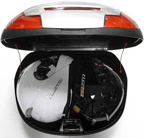 Delicieux UNIVERSAL MOTORBIKE MOTORCYCLE SCOOTER MOPED BACK REAR LUGGAGE CASE 43  LITRE TOP BOX: Amazon.co.uk: Car U0026 Motorbike