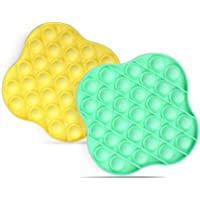 Push Pop Bubble Fidget Sensory Toy, Stress Reliever Toy for Autism Special Needs, Silicone Squeeze Sensory Toy for Kids…
