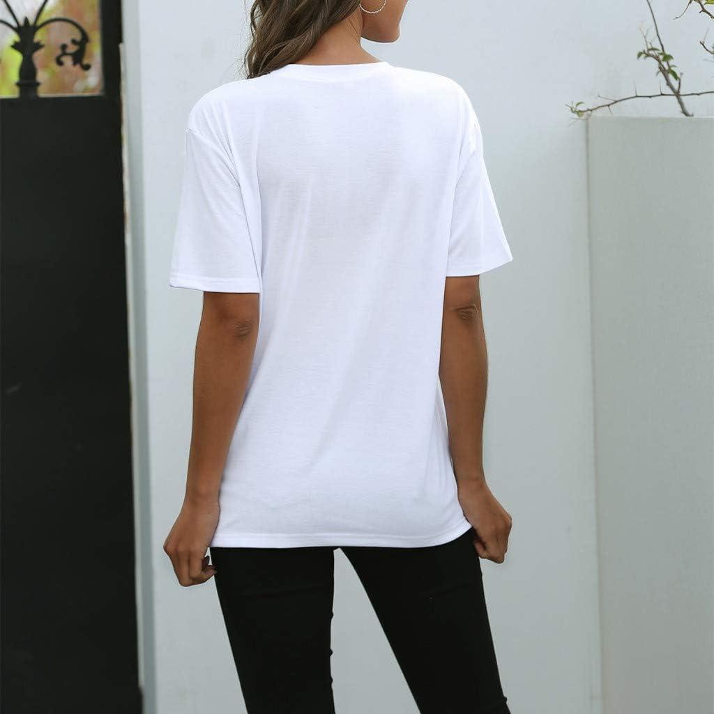 Kiminana Fashion Funny Mouth 11D Print Tops for Women Summer Casual Short Sleeve T-Shirt Crewneck Basic Tunic Shirt