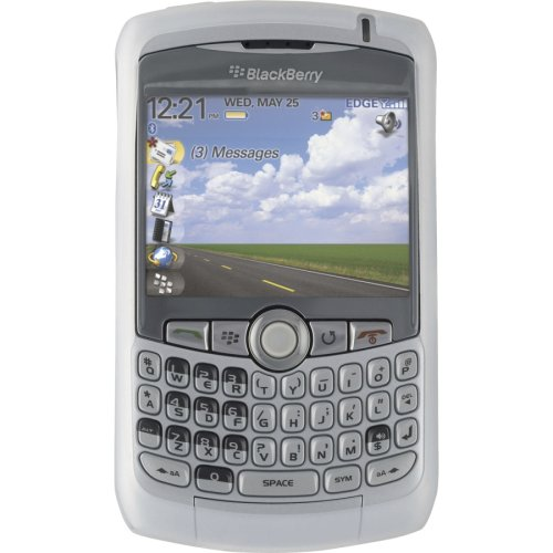 BlackBerry Skin for BlackBerry 8300, 8310, 8320, and 8330 - White - Retail Packaging