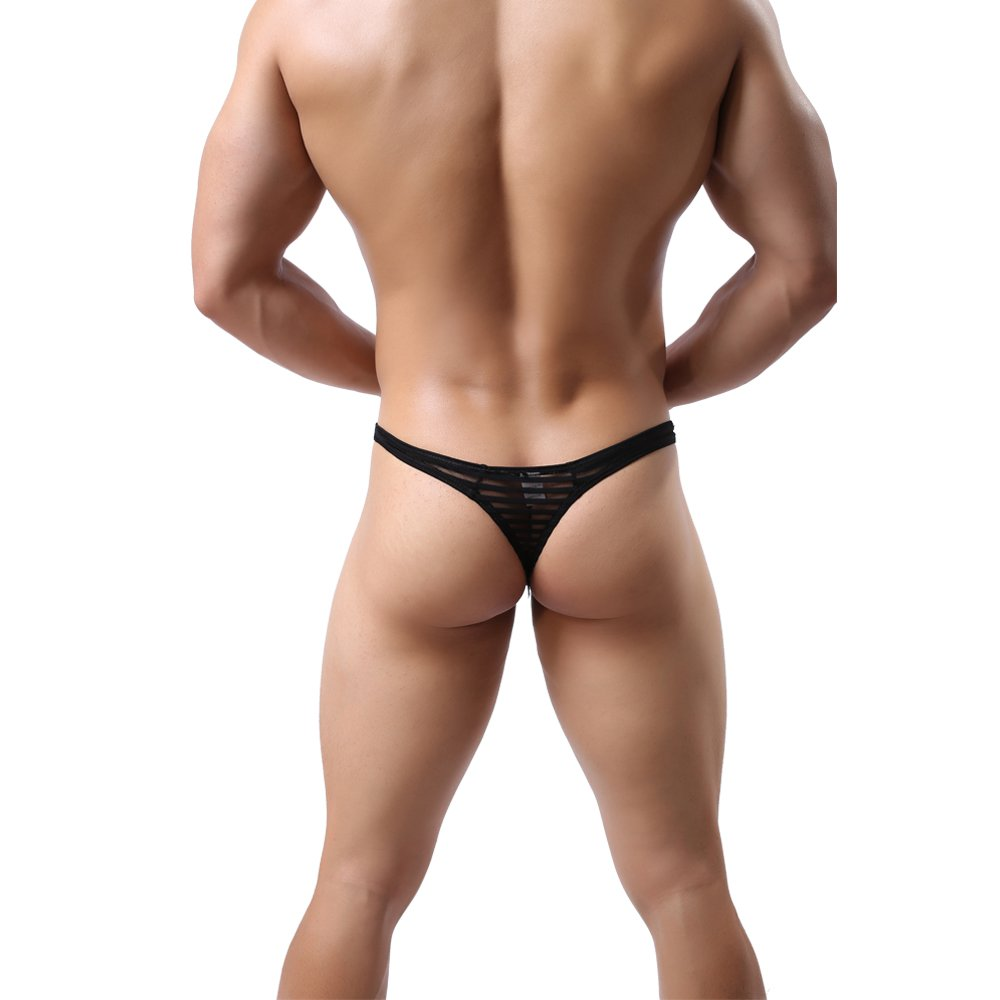 Top Quality Mens G-String Thong MuscleMate UltraHot Mens See Through Thong Underwear