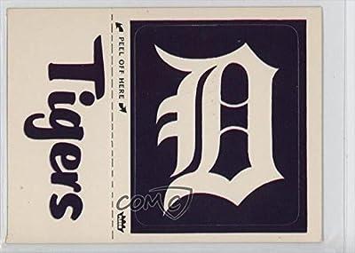 Detroit Tigers (Hat Logo) (Baseball Card) 1978 Fleer Grand Slam Hi-Gloss Team Stickers - [Base] #DET.4