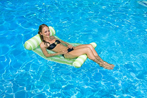 Poolmaster Swimming Pool Water Hammock Lounge, Green