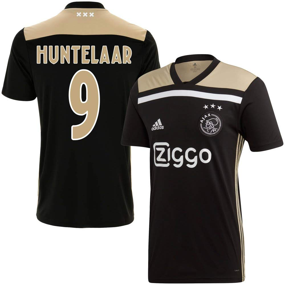 Ajax Away Trikot 2018 + Huntelaar 9 Style) 2019 (Fan