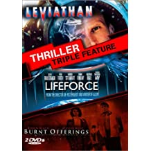 Thriller Triple Feature (Leviathan (1989) / Lifeforce (1985) / Burnt Offerings (1976))