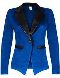 Amazon.com: Blue - Blazers / Suiting & Blazers: Clothing, Shoes ...