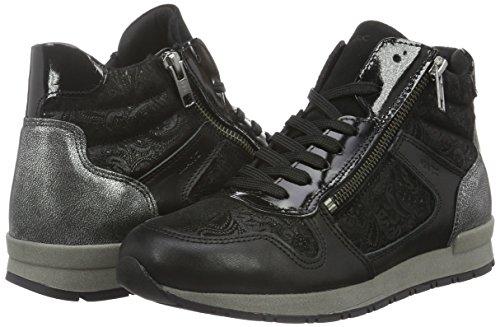 Top Raven Shoes Schwarz Marc High Damen Iwzx0B