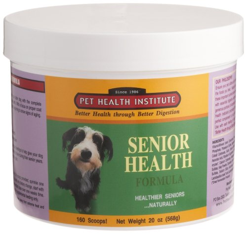 Dr. Kruger's Supplement Senior Health for Dogs, 20-Ounce Plastic Jar, My Pet Supplies