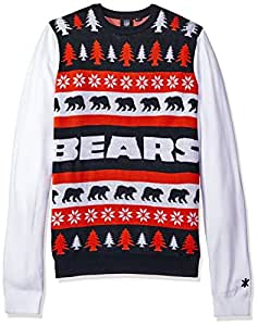 Chicago Bears One Too Many Ugly Sweater Medium
