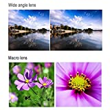 Phone Lens for 6 /6s /7 Plus, 3 in 1 Wide Angle