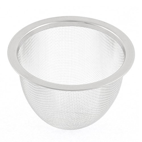 Stainless Steel Teapot Mesh Filter Strainer Drainer Basket 70mm Dia (Dia Baskets)