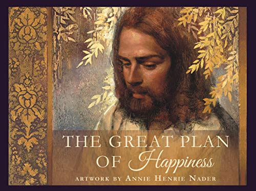 - Annie Henrie Nader The Great Plant of Happiness- Minicard Pack- 16 3x4 Cards- Illustrating Our Path Through The Plan of Salvation- LDS