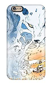 Awesome Naruto 9 Tails Flip Case With Fashion Design For Iphone 6