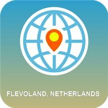 Flevoland, Holanda Mapa