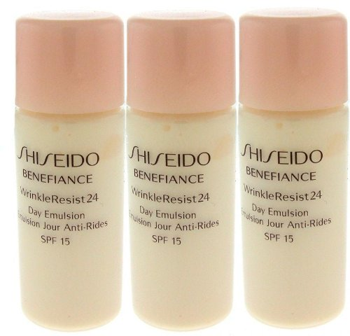 3 Shiseido Benefiance Wrinkle Resist 24 Day Emulsion Travel