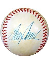 Tom Seaver Autographed Hand Signed NL Baseball Vintage Playing Days PSA DNA #Y88210
