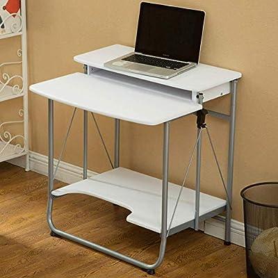 ZLXING Mesa de Escritorio Plegable para computadora hogar Simple ...