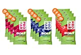 Probar Bolt Organic Energy Chews Bundle Strawberry,berry Blast and Raspberry - Four of Each Flavor, Box of 12
