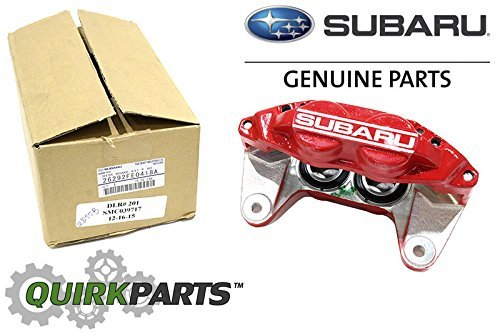 Subaru 2006-2007 Impreza WRX Front Right Brake Caliper RED OEM NEW 26292FE0418A