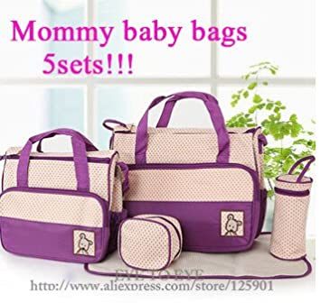 Amazon.com : Mother baby bags Mummy babies bags Baby Diaper ...