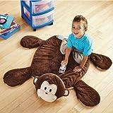 Mainstays Kids Plush Play Rug (Monkey)