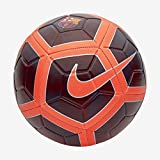 Nike FC Barcelona Strike Soccer Ball, Night Maroon/Hyper Crimson