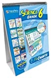 NewPath Learning 10 Piece Science Curriculum Mastery Flip Chart Set, Grade 6