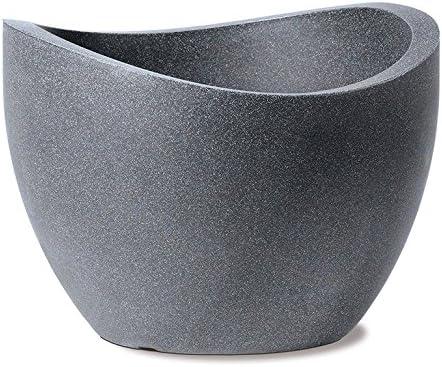 Scheurich Pflanzgefäß 250 Wave Globe Taupe-Granit 50 cm
