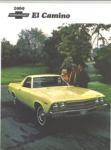 Download FULL COLOR 1969 CHEVROLET EL CAMINO TRUCK DEALERSHIP SALES BROCHURE - CHEVY ADVERTISMENT LITERATURE 69 pdf
