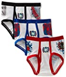 Fruit of the Loom Little Boys' 3-Pack Spiderman Briefs Prints,Multi,4