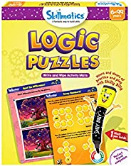 Skillmatics Educational Game: Brain Games 6-9 Years | STEM Learning | Creative Fun Activities (Brain Games)