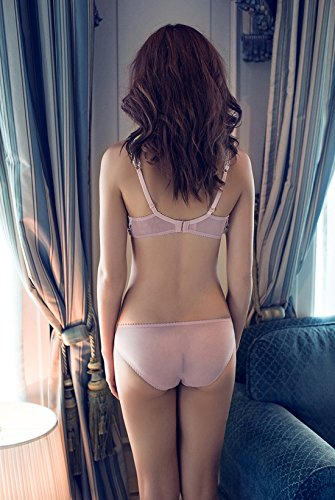 abcae7ab46 Pink Sexy Vintage Bra   Brief Sets Lace Bras Knickers Transparent Underwear  Suit