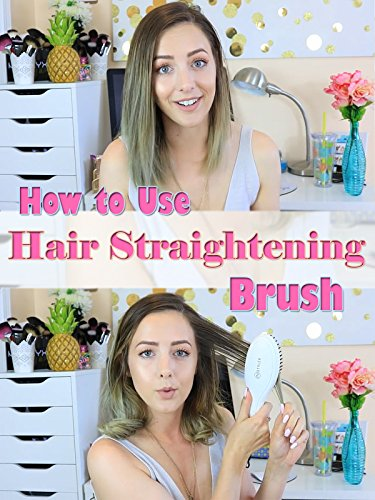 Review: How to Use Hair Straightening (Elements Brush)