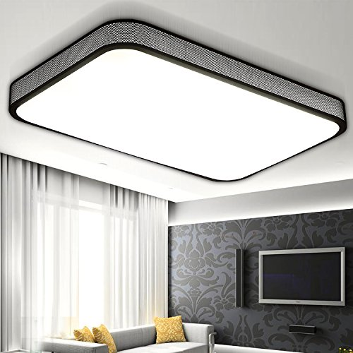 BLYC- Einfach Dimmen Lampe Schlafzimmer moderne leichte Süße rechteckigen Wohnzimmer Atmosphäre Studie Licht Beleuchtung Eisen 620 * 400mm