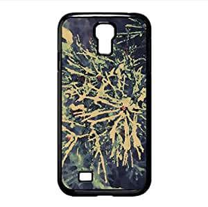 Frosted Pine Needles, Winter Watercolor style Cover Samsung Galaxy S4 I9500 Case (Winter Watercolor style Cover Samsung Galaxy S4 I9500 Case)