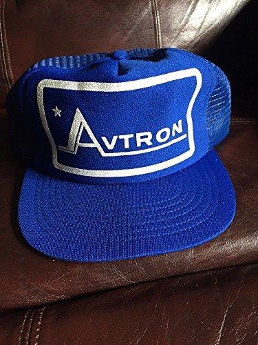Avtron Electronics Snapback Mesh Trucker Hat Geek Cap 70s 80s VTG USA