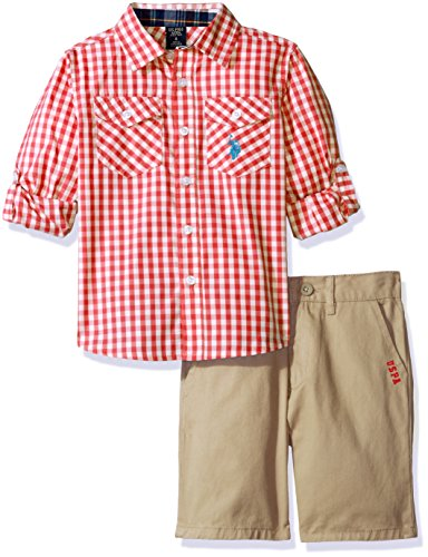 Gingham Check Woven Shirt - 2