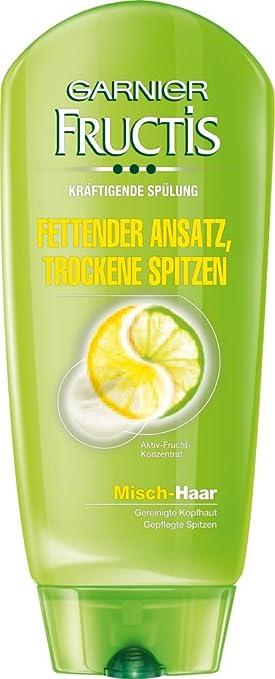 Amazoncom Garnier Fructis Fettender Ansatz Und Trockene Spitzen