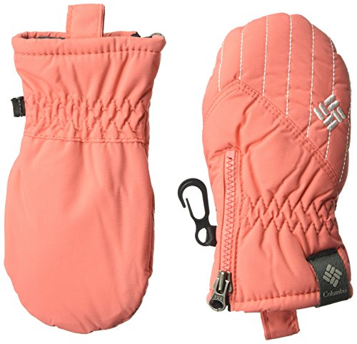 Columbia Baby Infant Chippewa Mitten, Hot Coral, One Size
