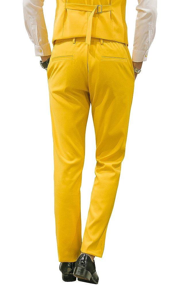 MOGU Mens Suits Slim Fit 3 Piece