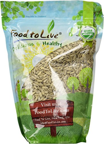 Food to Live Organic Sunflower Seeds (Raw, No Shell) (2 Pounds)